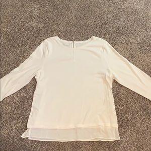 Talbots white shirt